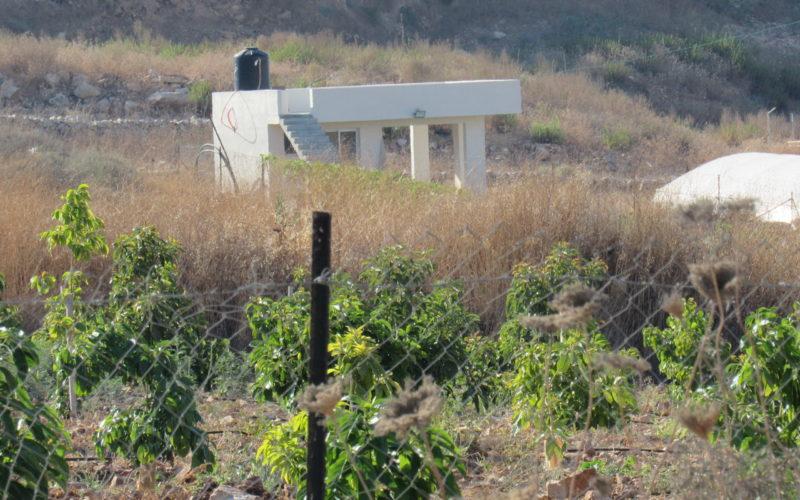 Halt of Work notice for agricultural facilities in An-Nabi Elyas village / Qalqilya