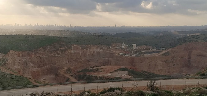 New plan to expand an illegal Quarry in Az-Zawiya / Salfit