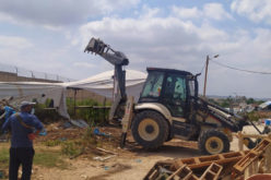 The Occupation Demolished Two Facilities in Nazlet 'Issa \ North Tulkarem