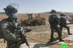 The Israeli Occupation demolished number of Palestinian houses in Masafer Yatta / South Hebron