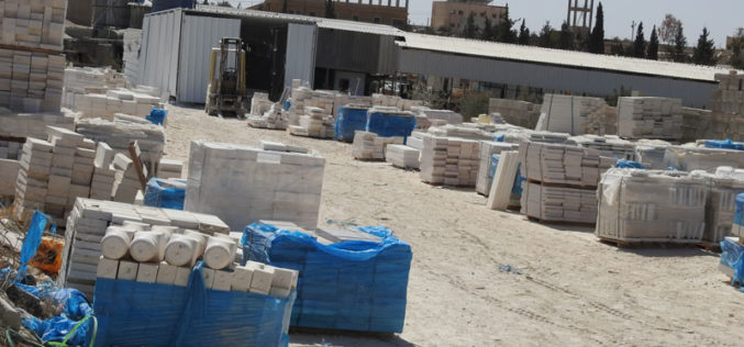 Halt of Work notices for structures in Ma'in area – South Yatta / Hebron governorate