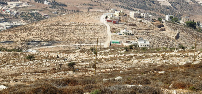 للمرة الثانية: الاحتلال يستهدف شبكة كهرباء في خلة طه غرب الخليل