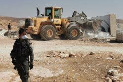 Demolition of two shelters and an agricultural facility in the village of Jinba in Masafer Yatta, south of Hebron