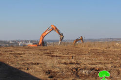 Ravaging and Opening a road south Shufa village / Tulkarm governorate