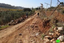 IOF demolish a Cistern east Halhul/ Hebron Governorate