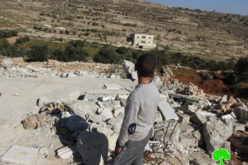 الاحتلال يهدم منزلاً في جبل جوهر جنوب مدينة الخليل