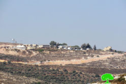 "Expanding ""Nevi Nahmiya"" outpost on Iskaka village lands / Salfit governorate"