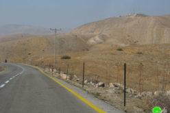 استكمالاً لمخطط ضم أجزاء من الأغوار … المستعمرون يضعون المزيد من العلامات في منطقة واد المالح / محافظة طوباس