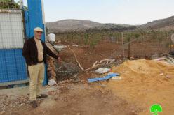 أعمال تخريب وسرقة أدوات زراعية على يد المستعمرين في سهل بلدة ترمسعيا / محافظة رام الله
