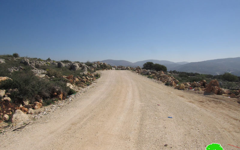 Halt of Work Notices For Citizens' House and Facilities in Yasuf Village / Salfit Governorate