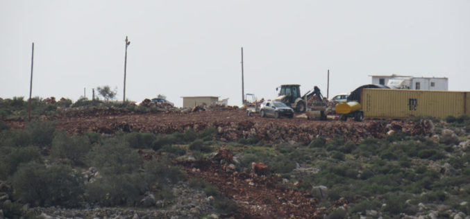 New Outpost to be built on Salfit Lands