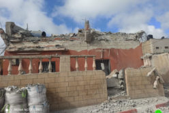 The Israeli Occupation blow up house of prisoner Mohammed Qubha in Tura / Jenin Governorate