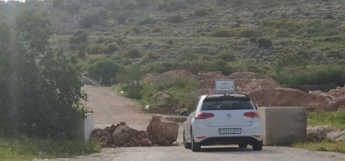 Three village entrances closed north of Ramallah city