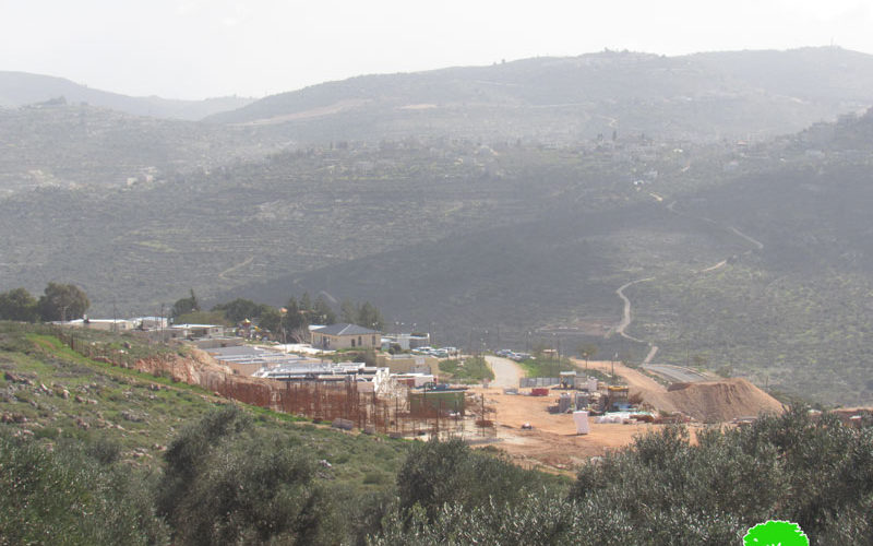 Halt of Work Notices for Houses and an Agricultural Road in Iskaka Village / Salfit Governorate