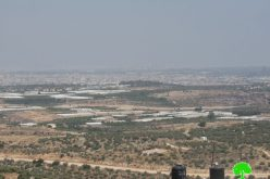 اغلاق البوابة الشمالية الزراعية المقامة في جدار الضم والتوسع في بلدة حبلة / محافظة قلقيلية