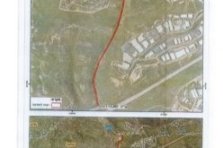 Military order to Seize 34 dunums for Opening a bypass road in Salfit lands