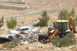 The Israeli Occupation Demolished Agricultural Structures in At-Tawani and Ar-Rakeez in Masafer Yatta / South Hebron