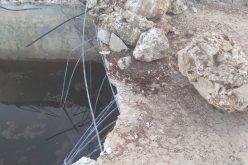 اقتلاع 95 غرسة زيتون وهدم بئراً للمياه وسناسل حجرية في قرية كفر الديك / محافظة سلفيت