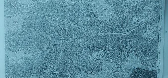 إخطار عسكري بإقامة خط مائي لخدمة المستعمرات المقامة على أراضي سلفيت