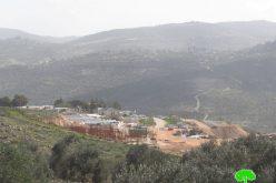 Navei Nahmiya outpost expands on Iskaka village lands / Salfit governorate