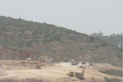 Ravaging Vast Areas of Lands in Yasuf for Nevi Nahmiya outpost / Salfit Governorate