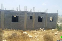 Halt of Work Notice for As-Salameen house in As-Semya West As-Samou' / Hebron governorate