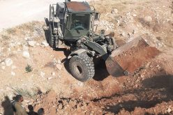 Colonists Set Fire to an Agricultural Structure- east Yatta / Hebron Governorate