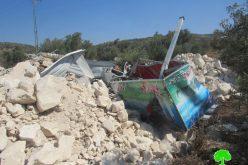 Demolishing Stores in Ya'bad / Jenin Governorate
