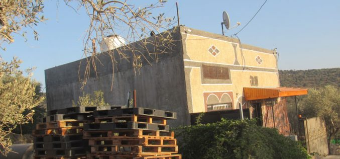 Halt of Work Notices for 10 Houses in Haris Village / Salfit Governorate