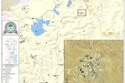 إخطارات بوقف العمل في مسكن ومنشآت زراعية بقرية سدة الثعلة شرق يطا بمحافظة الخليل