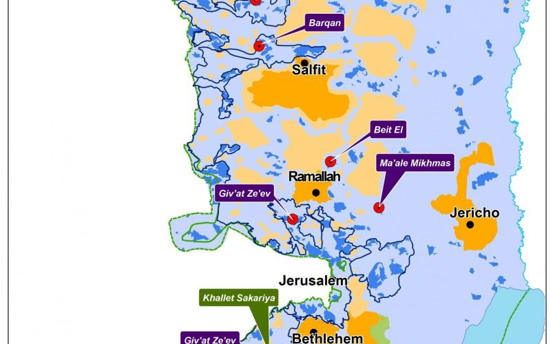 The Israeli occupation approves 1,000 settlement units in the Occupied West Bank