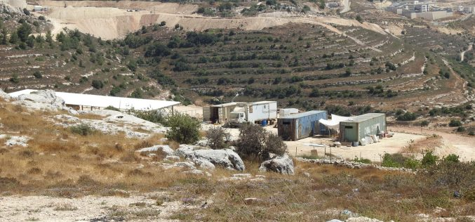 New outpost on Al-Khader land/ Bethlehem Governorate