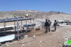 Demolishing and Confecting Agricultural Structures in Ad-Dhaheriya/ Hebron Governorate